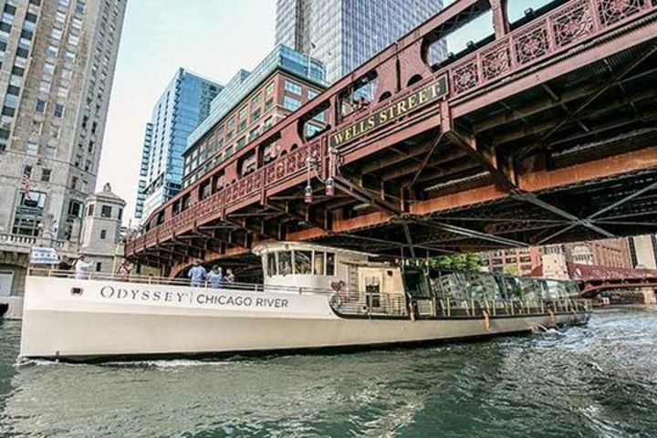 Odyssey Chicago River Fireworks Dinner Cruise image
