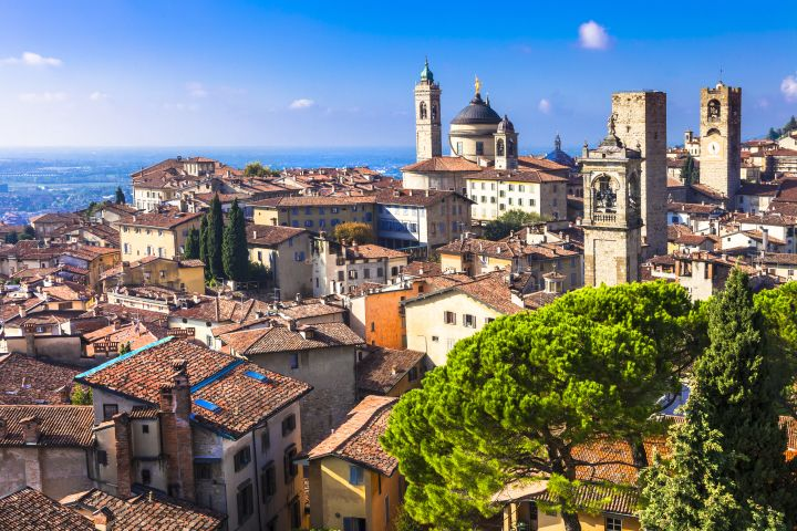 Alta Bergamo: Upper Town Private Walking Tour with a Local Guide image