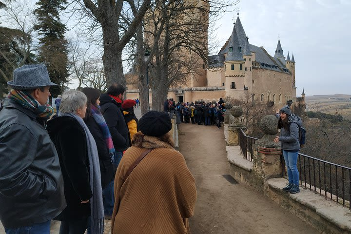 Toledo and Segovia Tour with Alcazar Entrance from Madrid image