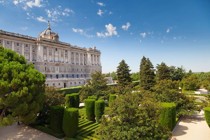 Prado Museum and Royal Palace of Madrid Tour with Skip the Line Entrance image