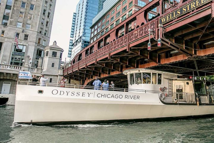 Odyssey Chicago River Architectural Brunch Cruise image