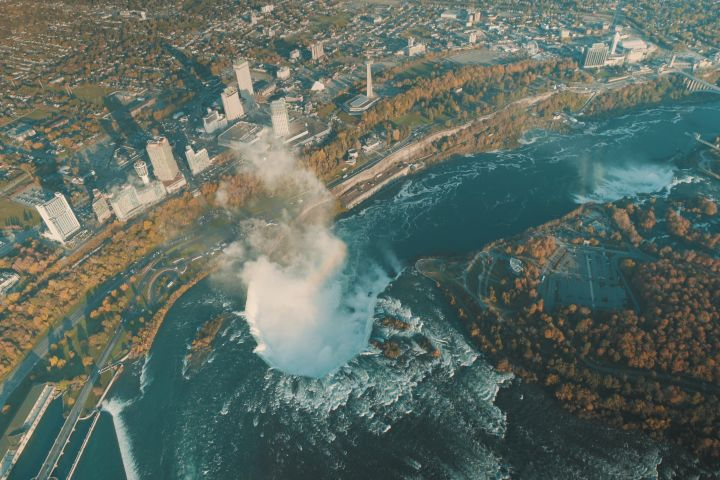 Ultimate Niagara Falls USA Tour with Helicopter Ride and Lunch image