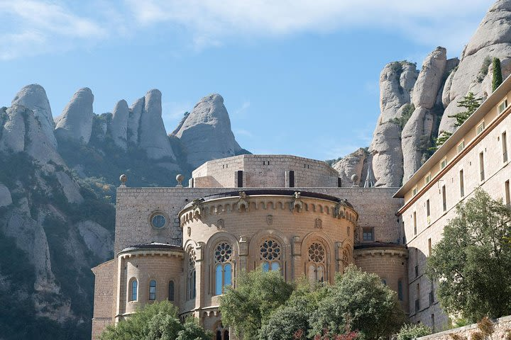 Montserrat Monastery and Sagrada Familia Tour with Liquor Tasting image