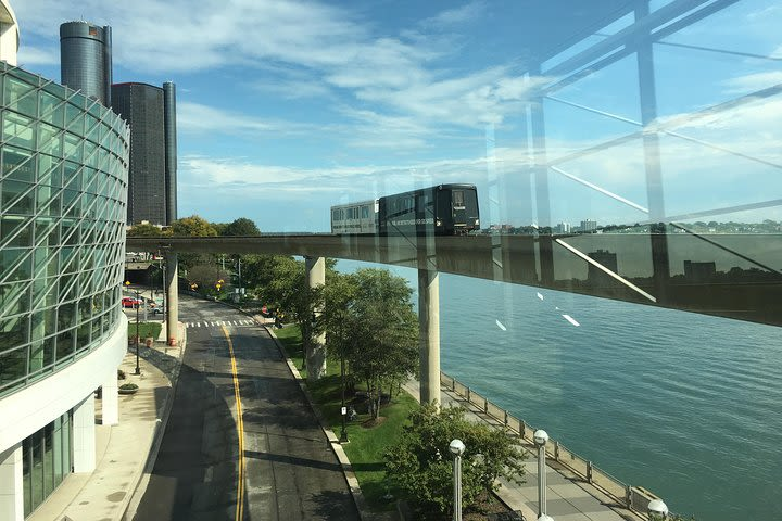 Detroit Downtown on The People Mover Audio Tour image