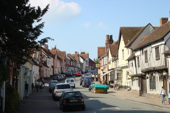 Lavenham: Discover the Tudor side of life on this medieval audio walking tour image
