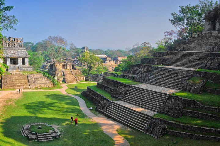 Half-Day Palenque Archaeological Site with Pickup image