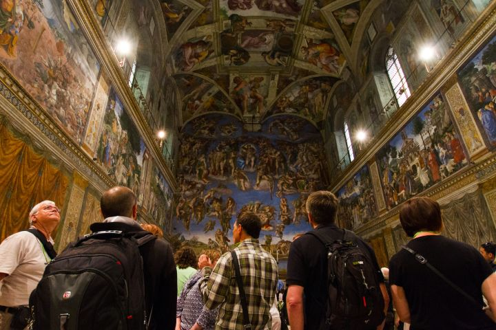 Rome In A Day Tour with Vatican, Colosseum & Historic Center image