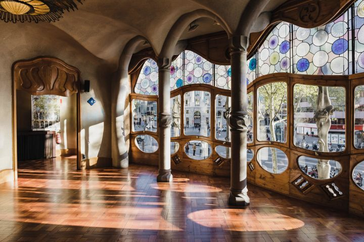 Complete Gaudí Tour: Casa Batlló, Park Guell & Extended Sagrada Família with Tower Climb image