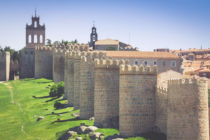 Avila from Salamanca with drop off in Madrid image