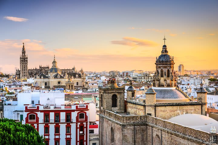 Seville Private Walking Tour with Flamenco Show  image