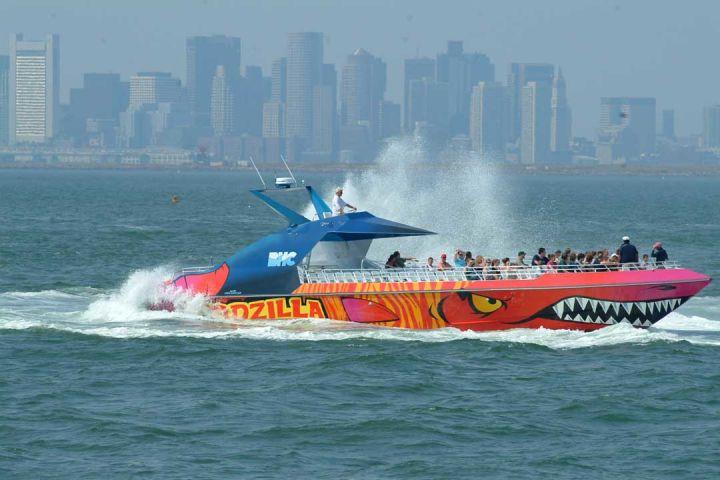 Boston Codzilla High-Speed Thrill Boat Ride image