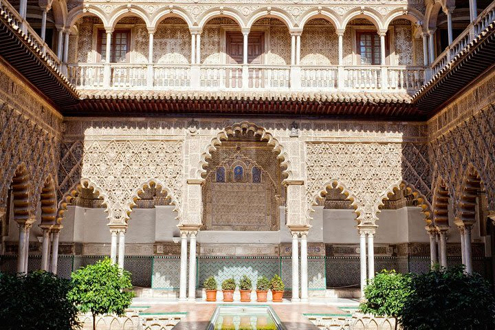 Alcazar of Seville Early Access with Optional Seville Cathedral image