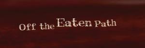 Off the Eaten Path logo