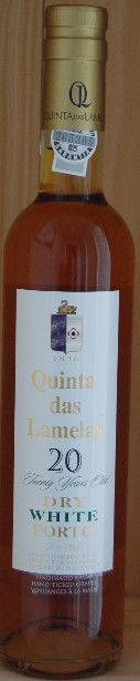 Dry White Porto 20 Years. 50 cl