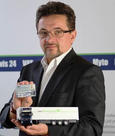 Andrzej Antoni Adamczyk OMV Business Card OMV Euro Truck
