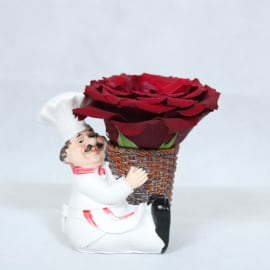 Red Rose for the One Who Cook