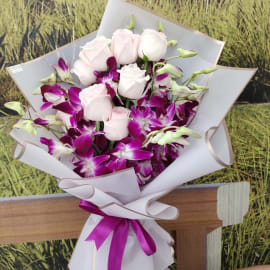 Orchid Flower Bouquet