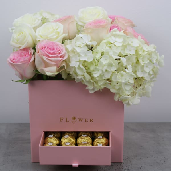 Gorgeous Chocolate Floral Box
