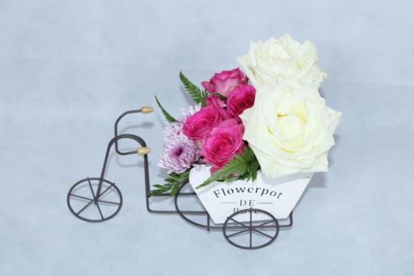 Elegant Floral Cycle