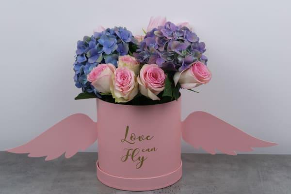 Pink Lady Flower Box