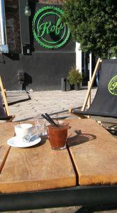 Kawa w słońcu