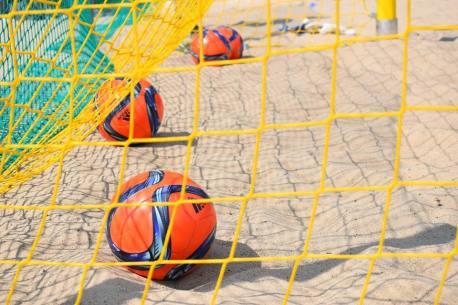 Beach soccer przed PKiN