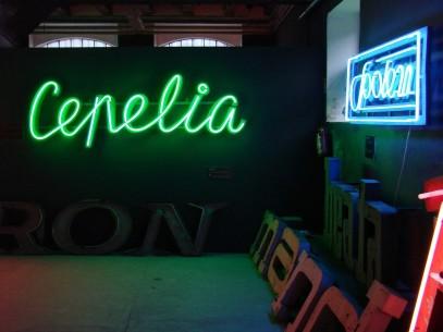 W świecie neonów
