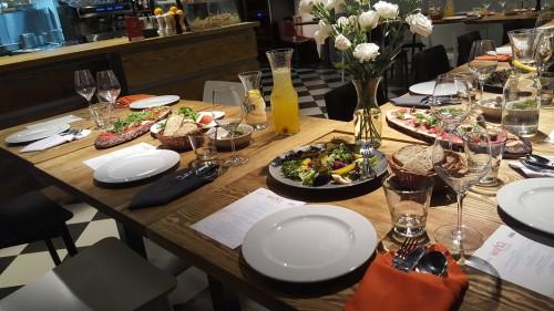 Elegancki obiad