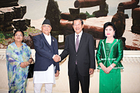 Nepal's top leaders express similar...