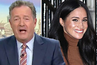 Piers Morgan rages at Meghan Markle...