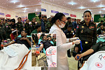 More than 300 Cambodian officers and...