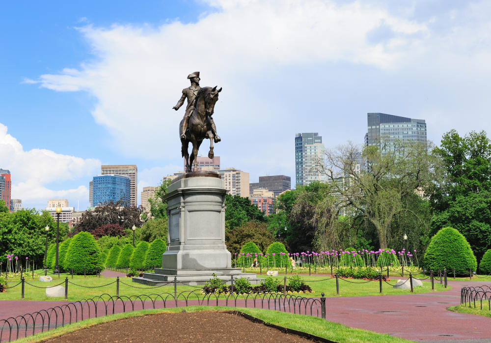 Boston Public Garden Paul Revere Statue