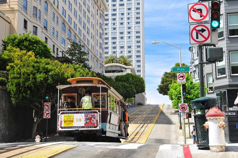 San Francisco Trolley Cable Car