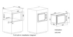 HW25800K-C2GT Microwave Oven