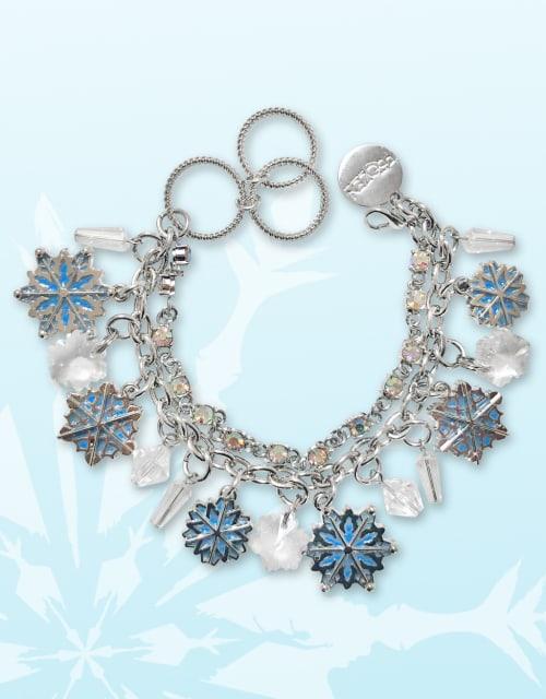 Snowflake Charm Bracelet - Adults