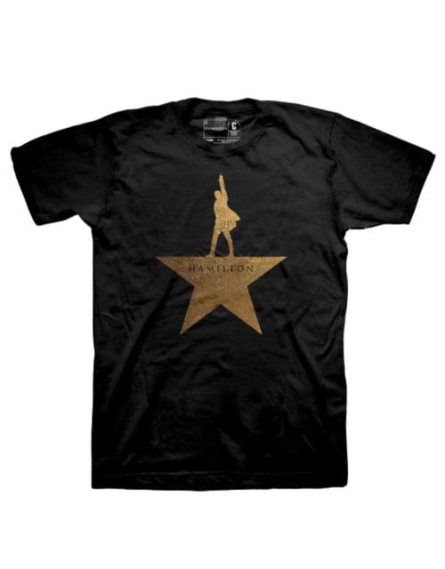 Gold Star Logo Tee - Adults