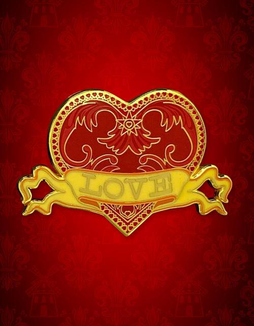 Lapel Pin - Love