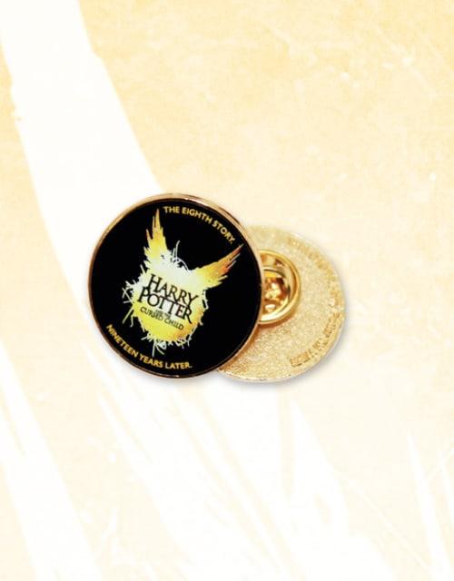 Cursed Child Black Pin Badge
