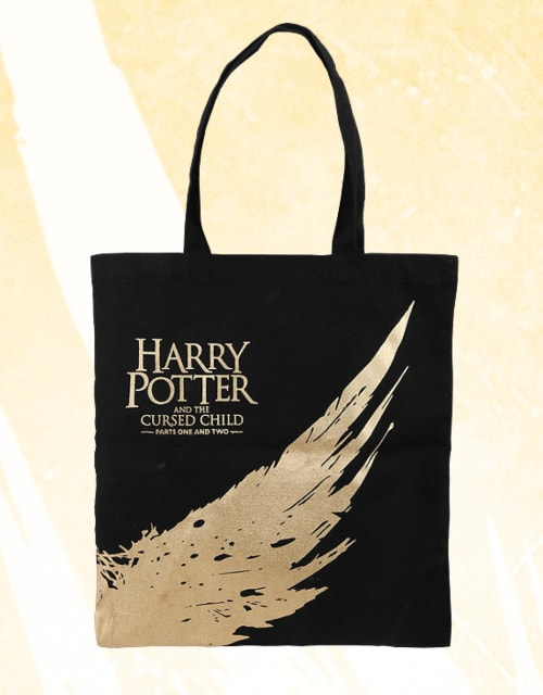 Cursed Child Gold Wing Tote Bag