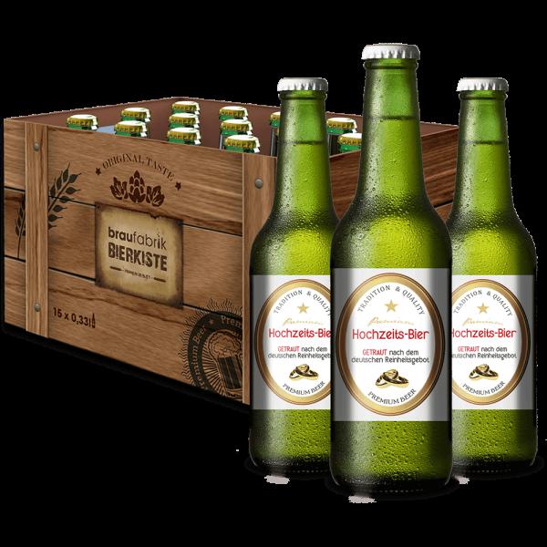 Hochzeit-Bierbox