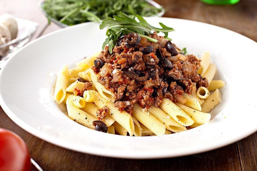 pasta köttfärssås