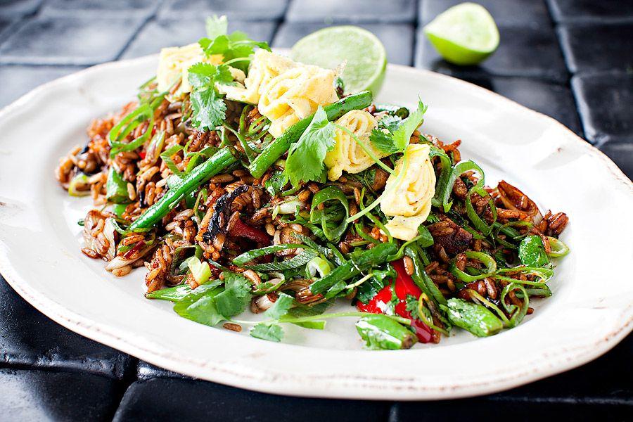 stekt ris recept