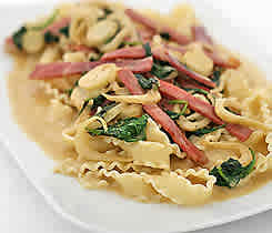 Marsala mafaldine - pasta med marsalasås
