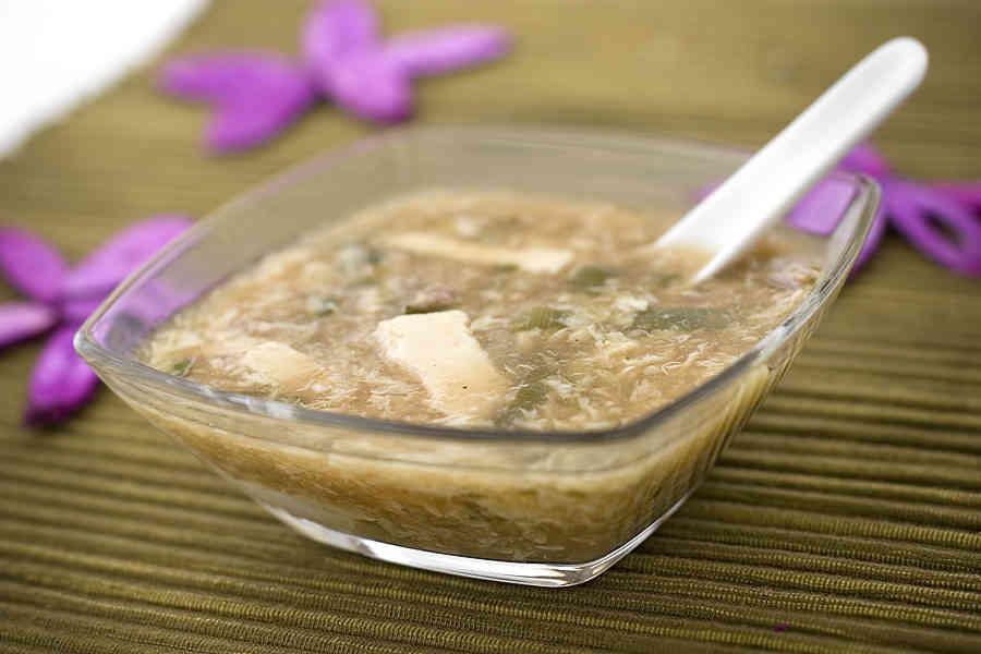 Suan ta tang - sötsur kinesisk köttsoppa