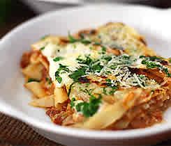 Lasagne - grundrecept