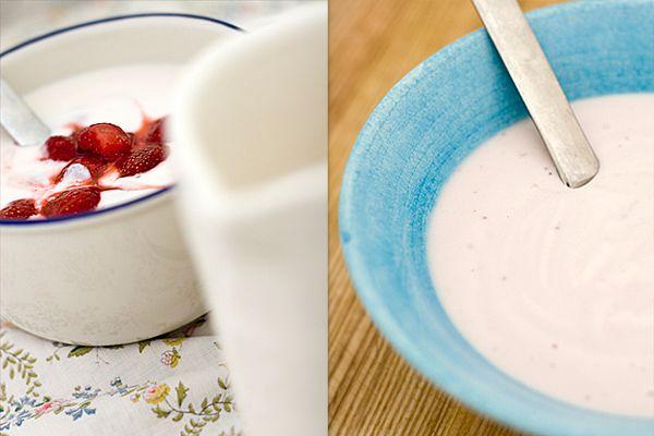filmjölk eller yoghurt