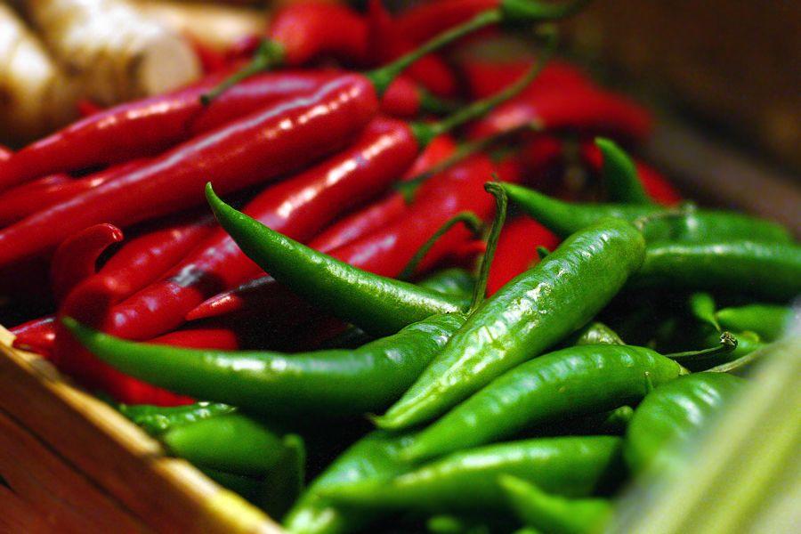 röd peppar samma som chili
