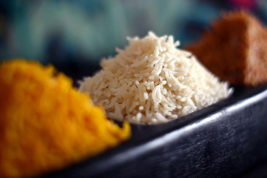 hur mycket är en portion ris