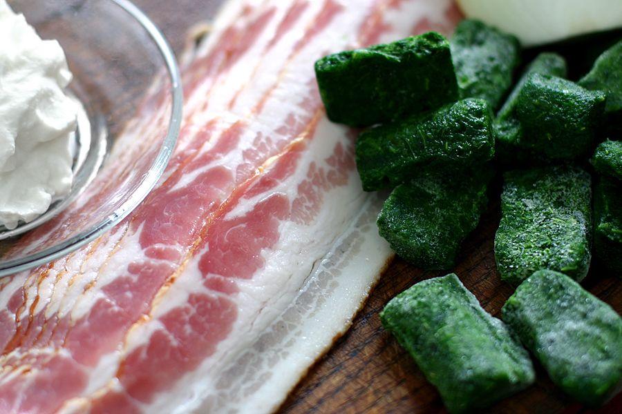 Baconfyllning till bl.a. pirog