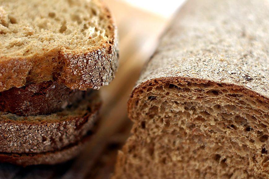 grovt bröd med jäst